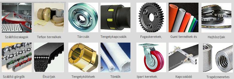 ipari hajtástechnika, Hosszbordás ékszíj, szállítószalag, szállítópálya, műanyag tagos heveder