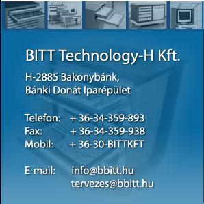 Bitt Technology-H Kft. - Minőségi ipari bútorok, műhelymegoldások, öltözőberendezés, cuccmegőrző, öltözőszekrény, műhelybútor
