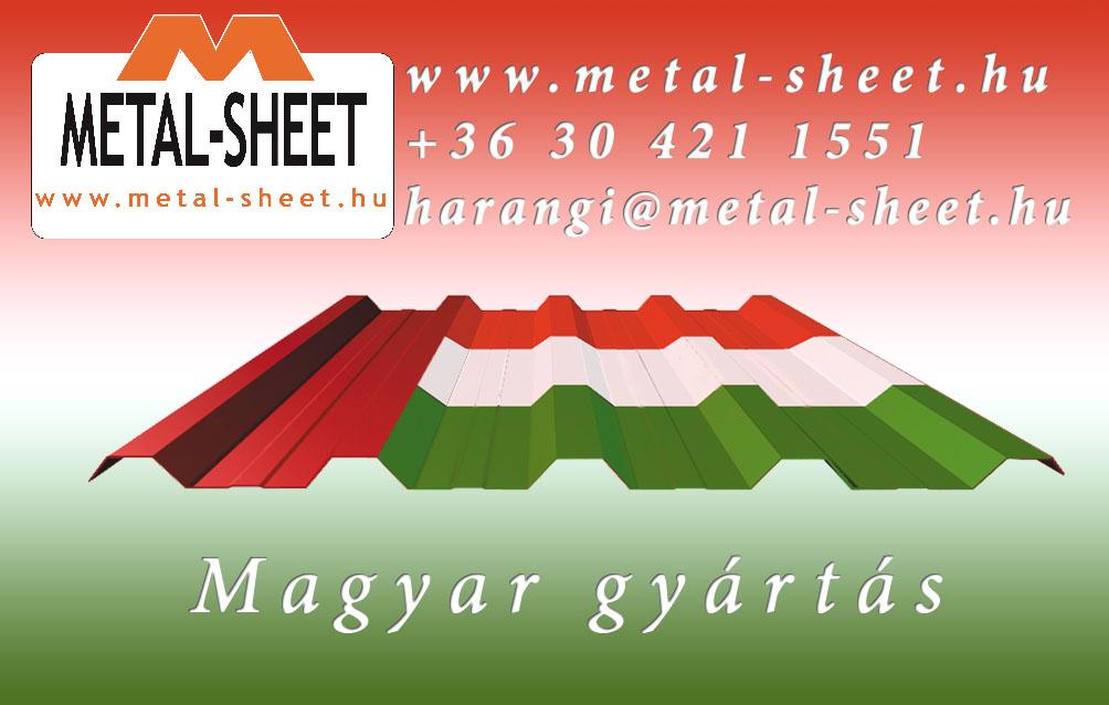 Metal-Sheet Kft. - Beázik a régi palatetős épület? Gyors, könnyű, gazdaságos megoldás a cserepeslemez.