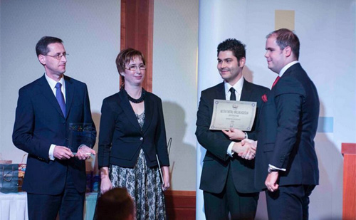 Fiatal vállalkozókat díjaztak